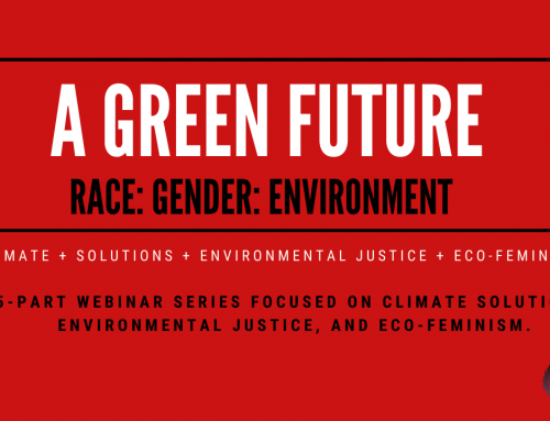 A Green Future: Race-Gender-Enviroment